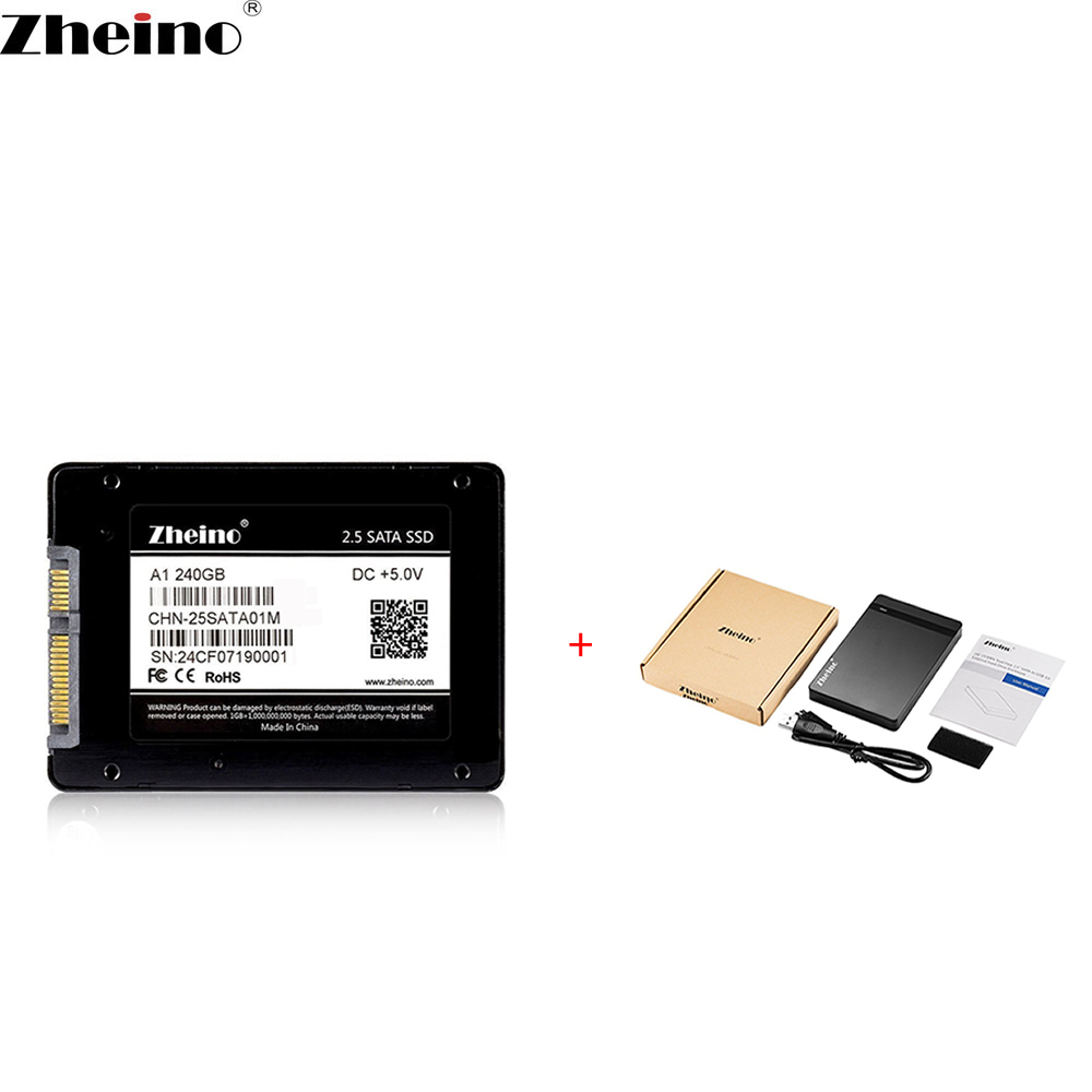 Zheino P1 USB3.0 Portable External 240GB 2.5 SATA Solid State Drive with Portable SSD External Hard Drive Disk Mobile SSD kingfast ssd 128gb sata iii 6gb s 2 5 inch solid state drive 7mm internal ssd 128 cache hard disk for laptop disktop