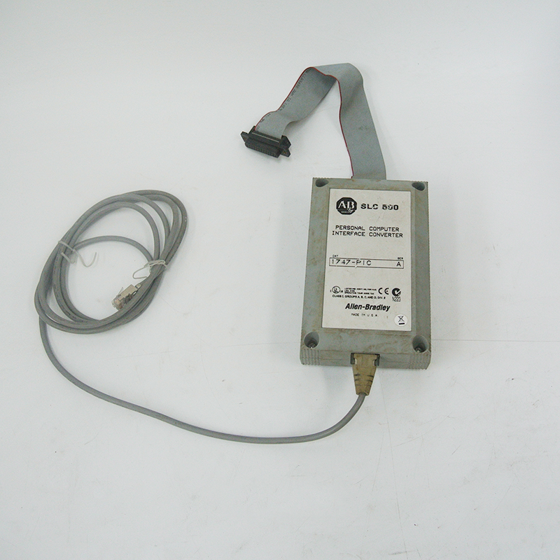 Used in Good Condition 1747-PIC With Free DHL / EMS allen bradley servo motor tly a230t hj62aa used in good condition with free dhl ems