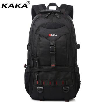 KAKA men oxford military backpacks 22 inch laptop bag travel school students bookbag male business rucksacks with big capacity  laptop bag