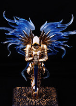 28cm Hot Classic Popular Game Role Garage Kits,The Archangel Tyrael Action Figure,Excalibur Owner Justice Angel Tyrael Model