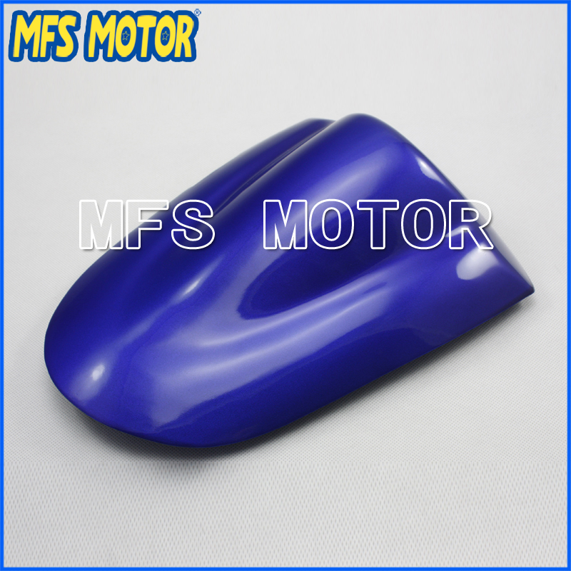 Rear Pillion All Blue Injection ABS Seat Cowl Cover For Suzuki GSX R600/750 K6 06 07 Motorcycle Accessories