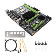 جديد X58 اللوحة LGA 1366 LGA1366 DDR3 فتحة 32GB الكمبيوتر المكتبي اللوحة الرئيسية لوحة أم للكمبيوتر x5650 ECC ECC REG RAM Server