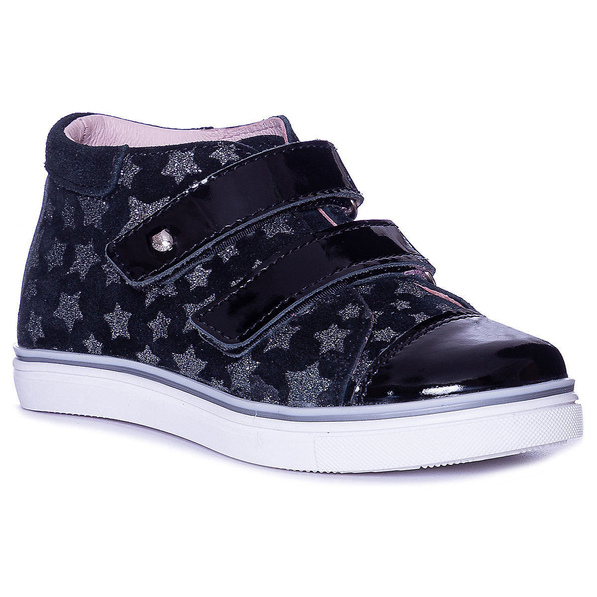 Фото - KOTOFEY Children Casual Shoes 10813955 sneakers running shoes for children Black sport Girls Leather wen design hand painted black shoes ghostbusters high top lace up mens canvas athletic shoes womens flat bottom sneakers
