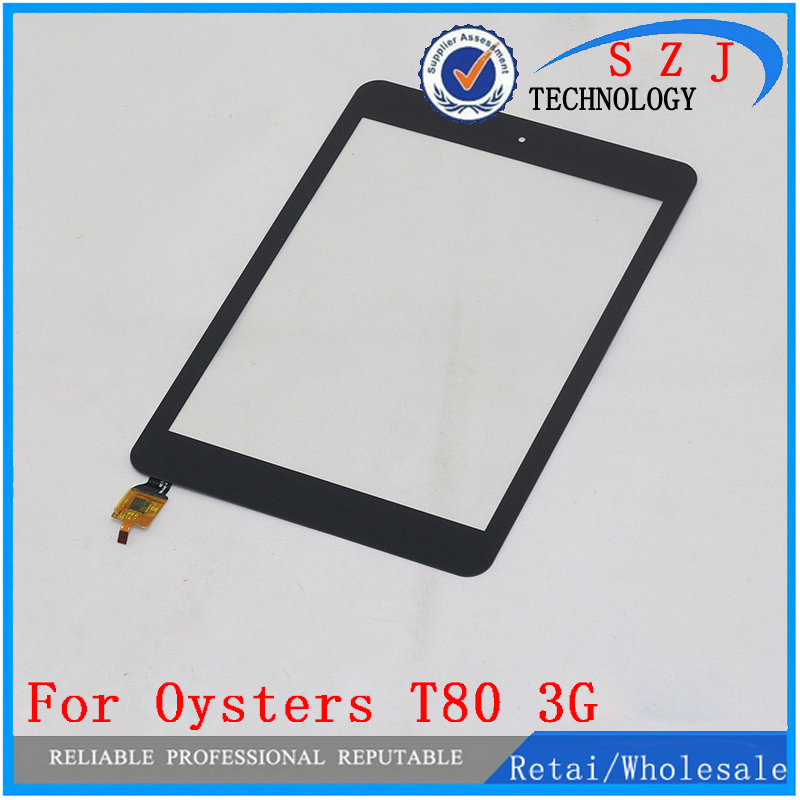 New 7.85 inch Tablet Oysters T80 and Oysters T80 3G Capacitive touch screen panel Digitizer Glass Sensor Free shipping for navon platinum 10 3g tablet capacitive touch screen 10 1 inch pc touch panel digitizer glass mid sensor free shipping