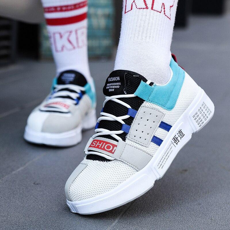 4453ae87 45 Zapatillas Luz Mujer 46 Transpirables Lona Moda Gran Zapatos Amantes  Azul Deporte blanco Eur 36 rojo ...