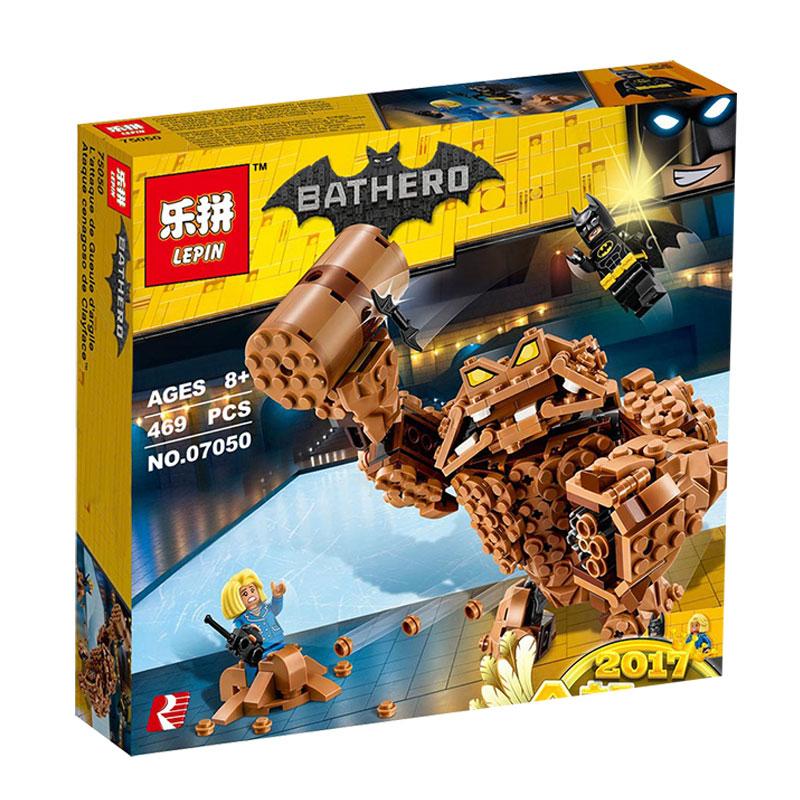 Lepin-07050-New-469Pcs-Batman-Movie-Series-The-Rock-Monster-Clayface-Splat-Attack-70904-Building-Blocks (5)