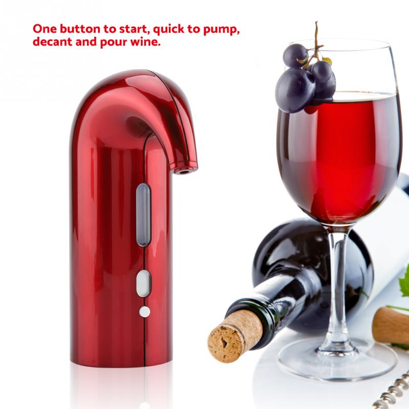 Electric Wine Aerator Fast Decanter Magic Aerator Pourer Decanter Auto Decanter Dispenser Wine Accessories