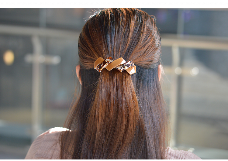 Multicolored French Hand Making Cellulose Acetate Hair Clip Barrette Hair Bands Fascinator Accesorios Para El Pelo Excellent Quality Back To Search Resultsapparel Accessories