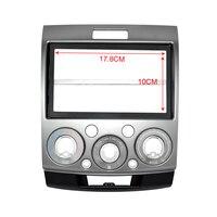2 Din Car Kit Car Fascia Panel Audio Panel Frame Car Dash Kit For Ford Ranger