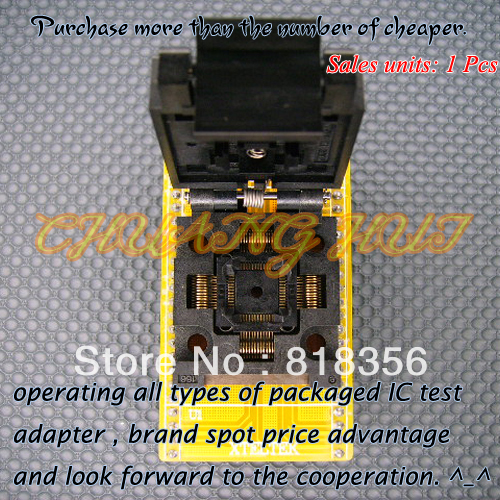 Adaptateur SA248 Xeltek adaptateur convertisseur QFP48/D48 adaptateur programmeur TQFP/QFP48-DIP48Adaptateur SA248 Xeltek adaptateur convertisseur QFP48/D48 adaptateur programmeur TQFP/QFP48-DIP48