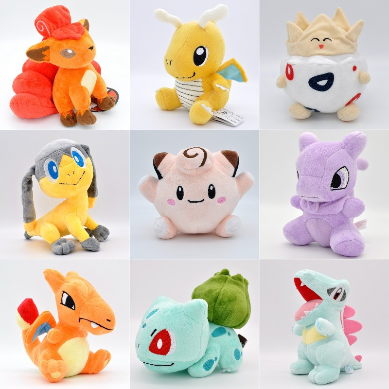 Takara Tomy Pokemon Pikachu  Free Shipping Small Plush Togepi Toys Hobbies Dolls Stuffed Toys Stuffed Animals Toys For Children