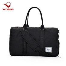 Повседневная мужская спортивная сумка для фитнеса, для тренировок, на короткие расстояния, Оксфорд, сплошной цвет, большая вместительность, Женская багажная сумка, синий/серый/черный