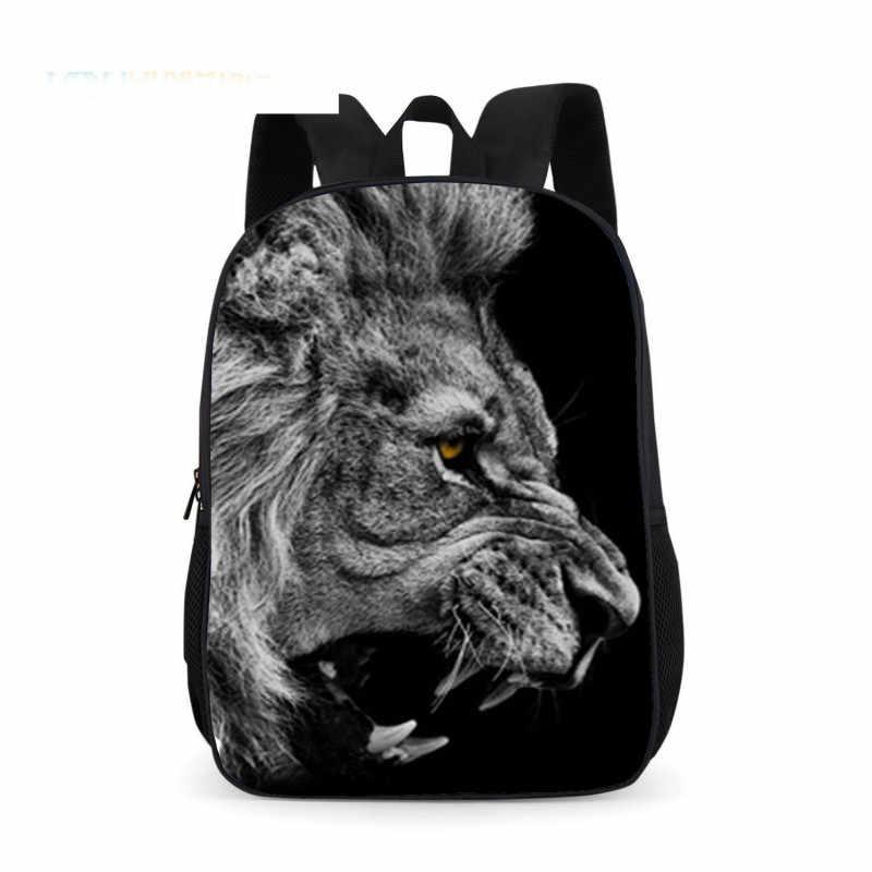 Детские школьные сумки, рюкзаки для детей с изображением животных, с принтом рюкзак детские школьные сумки для мальчиков и девочек начальной школы сумка для детей