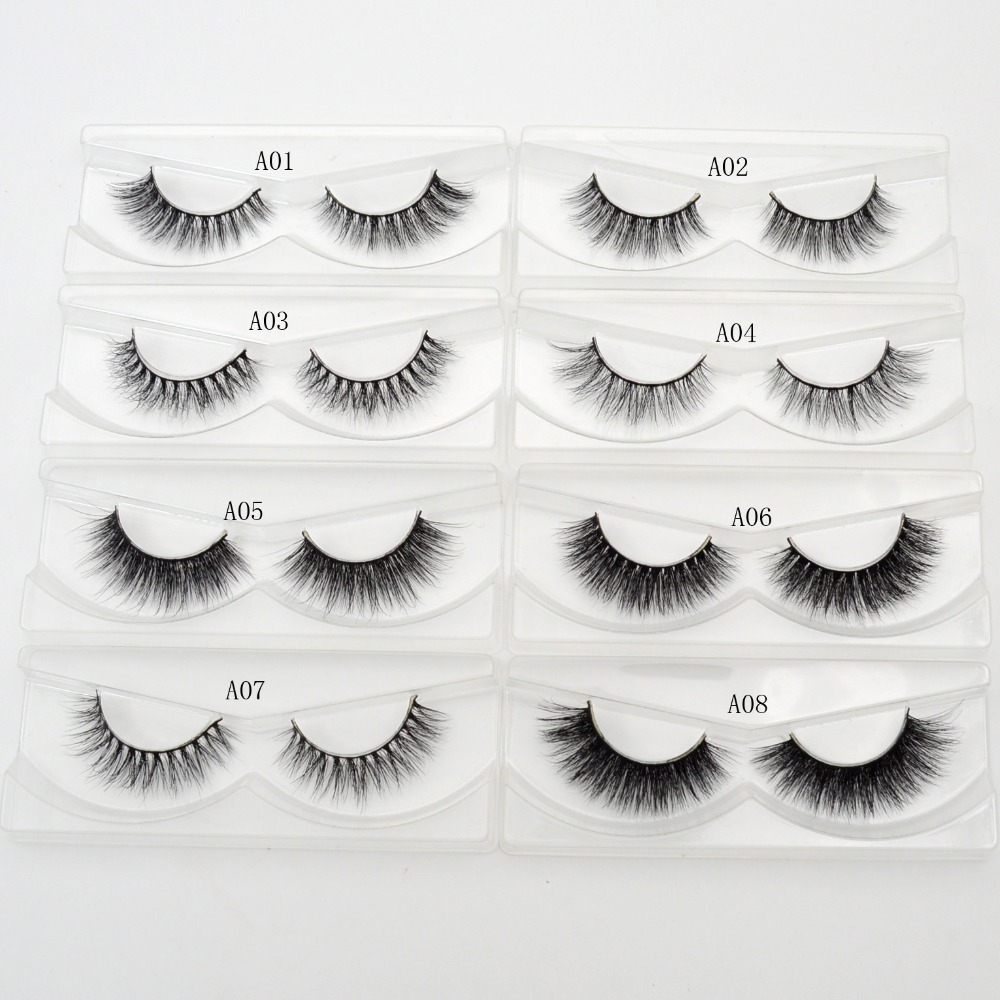 Visofree Eyelashes 3d Mink Eyelashes Crossing Mink Lashes Hand Made