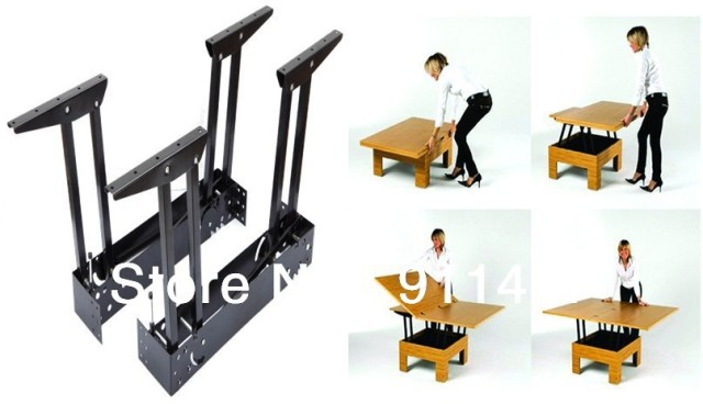 hot sale space saving lift top coffee table mechanismfolding table