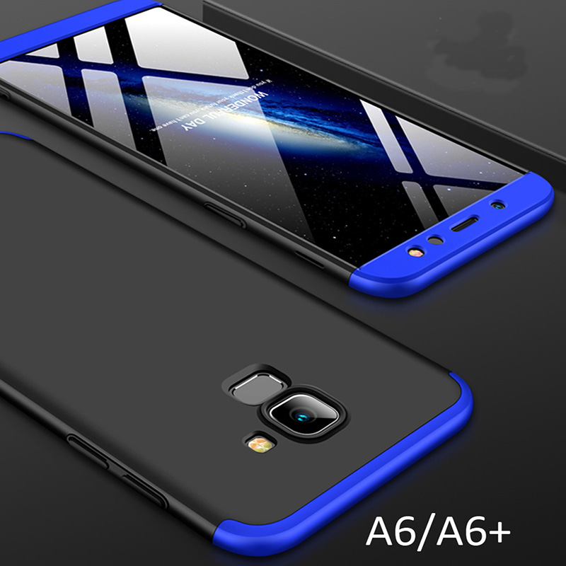 For Samsung Galaxy A6 Plus Case A6+ 2018 360 Full Protection Cover