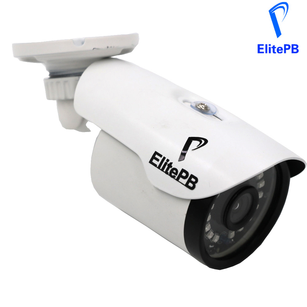 ElitePB Full HD IP Camera Support POE 2.0 MP Network Security CCTV Waterproof IP66 Onvif Infrared Outdoor IR Cut Camera poe audio hd 1 3mp 960p outdoor ir network ip camera 36 ir security onvif 2 1 p2p