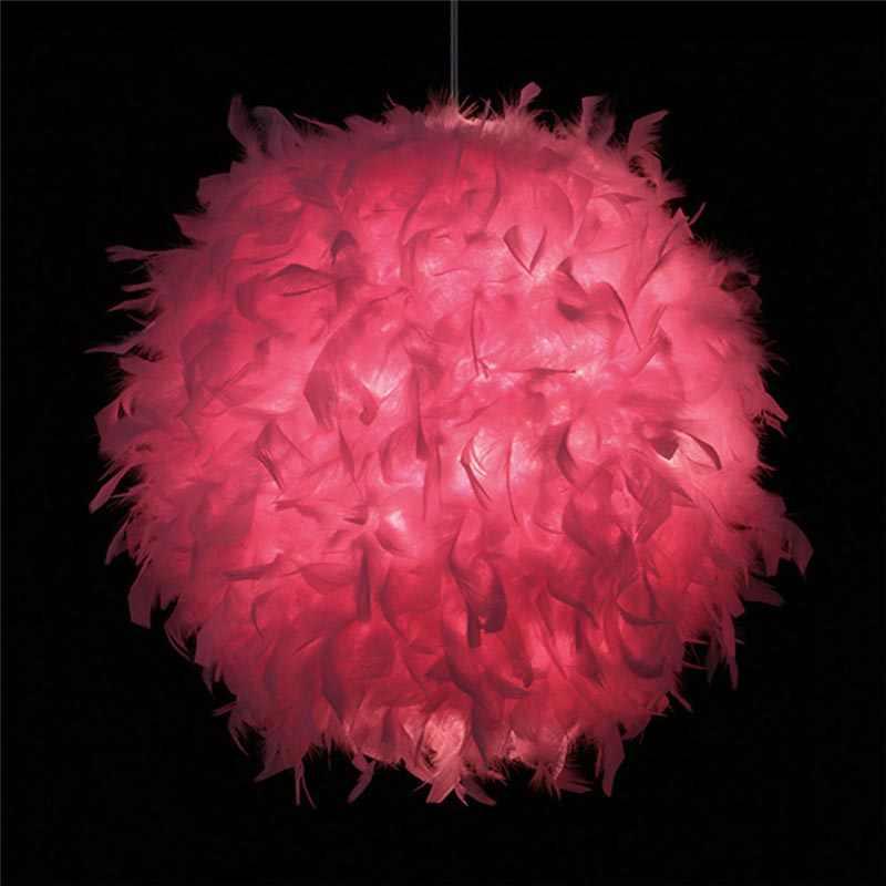 SANYI Современная подвесная потолочная лампа романтическая люстра с пером для спальни Прямая доставка