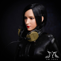 Collection 1/6 Scale Asian Female Head Sculpt Cute Girl Ada Head for 12inch Phicen Tbleague JIAOUL Doll Body toys