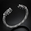 Lafone Teen Wolf Head pulsera joyería India accesorios de moda pulsera vikingo hombres pulsera brazalete pulseras para mujeres brazaletes