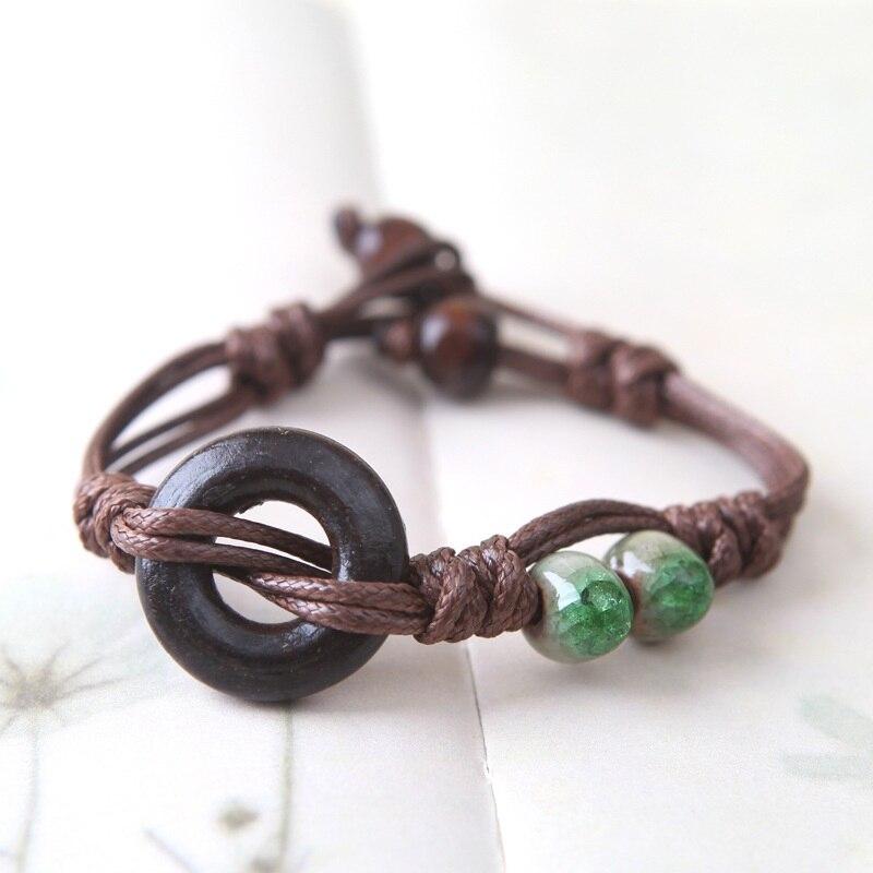 Handmade Braided Rope Bracelets Women Wen Colourful Friendship Christmas Gift Bracelets Jewelry Vintage Bracelets & Bangles