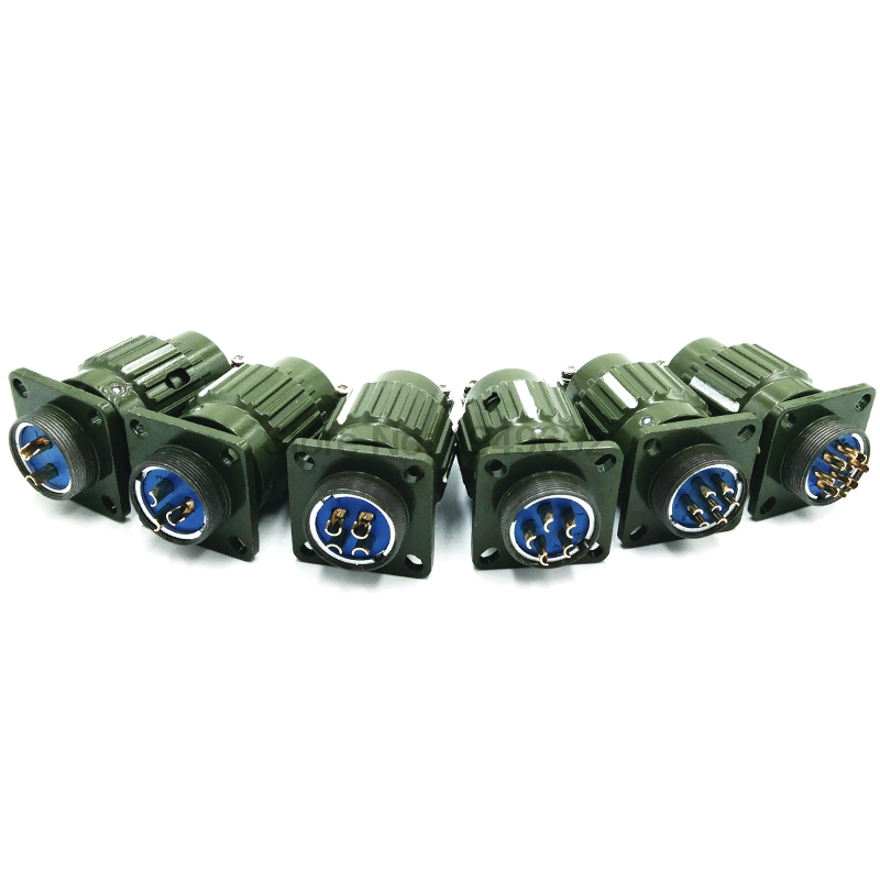 Y2M series 21mm Y21M fast buckle Aviation cable connector plug male & female 2pin 3pin4pin5pin7pin10pin14pin16pin Army green y2m series 21mm y21m fast buckle aviation cable connector plug male