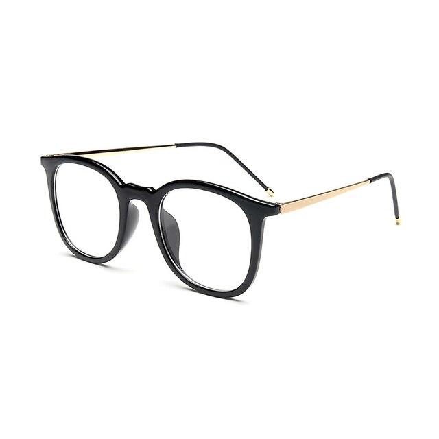 2017 Новых очков кадр очки корейский рецепт очки ретро очки женщины оптические очки очки кадр мужчин 51075
