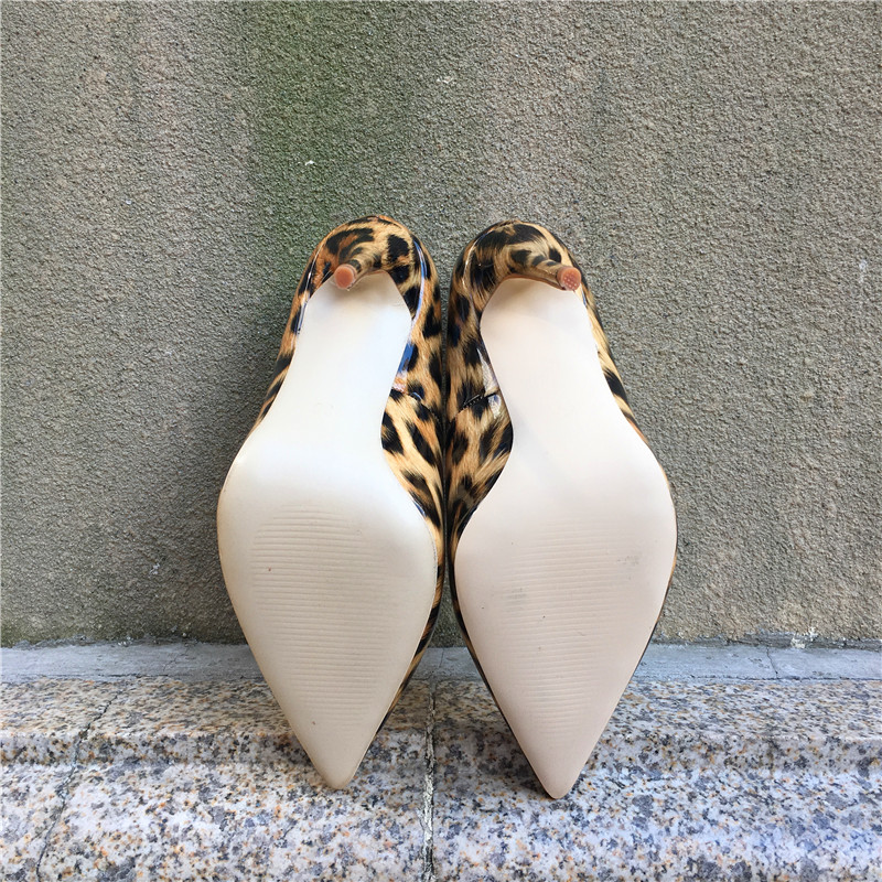 Chaussures Haute Mince De 2018 Léopard Femme Mariage Couleur 12 Pompes Cm Hauts Talons Sexy Chxuezi 6npEWqz