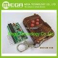 1 conjunto = 2 pcs 2262/2272 Quatro Maneiras Wireless Kit de Controle Remoto, M4 o Receptor de bloqueio com 4 Chaves Controle Remoto sem fio