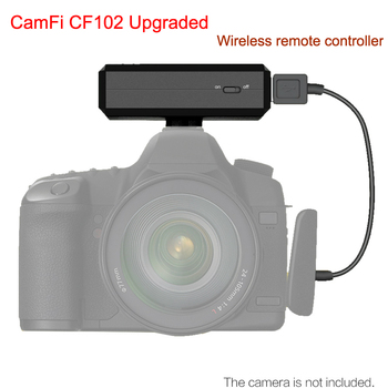 Upggraded CamFi CF102 Wireless Wifi DSLR Camera Remote Controller Capture Transmit Wireless Tablets for iPhone PC TV SONY CANON