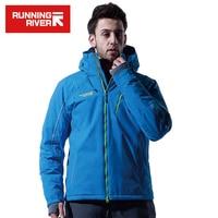 RUNNING RIVER Brand Men Ski Windproof Jackets Waterproof Skiing Warm Snowboard Jackets Climbing Mountaineering Suit A4018