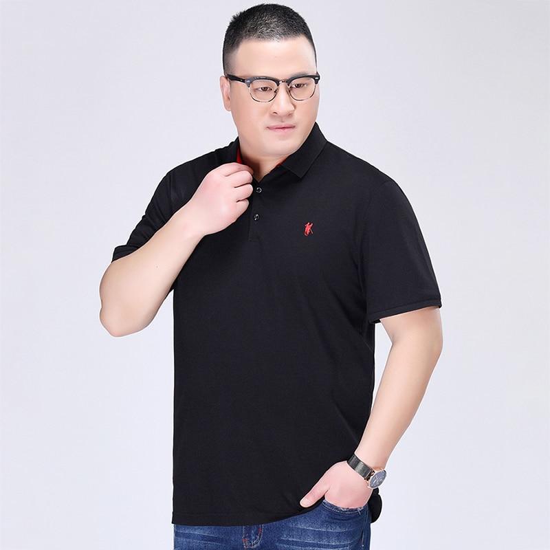 2019 Polos Homme été Lacoste Polo chemise hommes 7XL grande taille Polo décontracté manches courtes hommes grande quantité coton t-shirt
