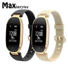 Maxinrytec S3 Смарт Браслет спортивные Фитнес трекер часы, счетчик шагов gps сердечного ритма наручные Smartband для леди Для женщин