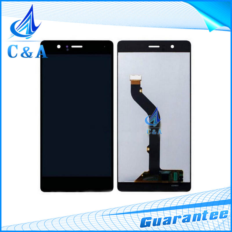 1 piece tested free shipping replacement repair parts 5.2 inch screen for Huawei Ascend P9 lcd display with touch digitizer