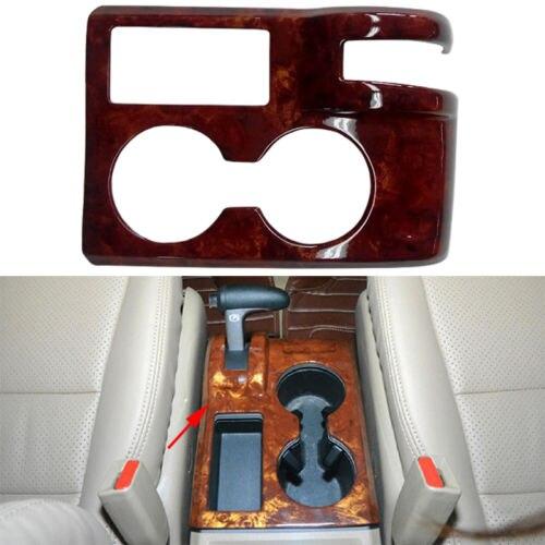 Chrome gear position Box Watch cup Holder Cover Trim for Honda CR-V CRV 07-11 ветровик rein для honda cr v iii 2006 2012 кроссовер на накладной скотч 3м 4 шт