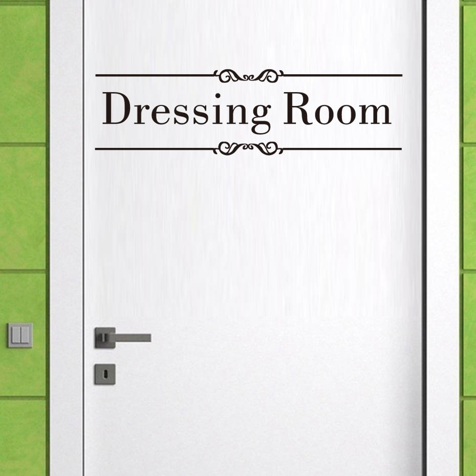 Dressing Room Be Amazing Mirror Decals Vinyl Wall Sticker Wash Room Modern Wall Art For Bedroom Waterproof Wallpaper Home Decor