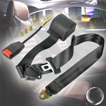 BORUiT Universal 3 Point Car Seat Belt Webbing Safety Extension Auto Seatbelt Extender