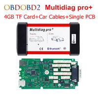 New Multidiag Pro Professional Diagnostic Tool TCS CDP Pro With Full Car Cables 4GB Memory Card