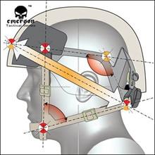 EMERSON MICH система крепления шлема h-затылка военный страйкбол Пейнтбол шлем аксессуар