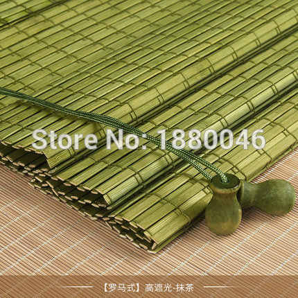 New coming Outdoor wooden window roller blind roller up Bamboo roller blinds chinese bamboo blinds factory