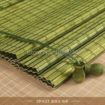 New coming Outdoor wooden window roller blind roller up Bamboo roller blinds chinese bamboo blinds factory