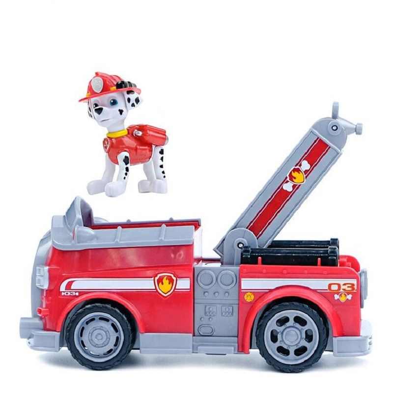 Paw Patrol dog car Marshall Canine vehicle Toy Patrulla Canina Action Figures Juguetes Patrol Canine toysPaw Patrol dog car Marshall Canine vehicle Toy Patrulla Canina Action Figures Juguetes Patrol Canine toys
