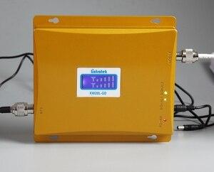 Image 5 - Dual Band 2G GSM 900 3g Cellular Signal Amplifier จอแสดงผล LCD 900 + 2100 (วง 1) โทรศัพท์มือถือ Booster Repeater 3g S58