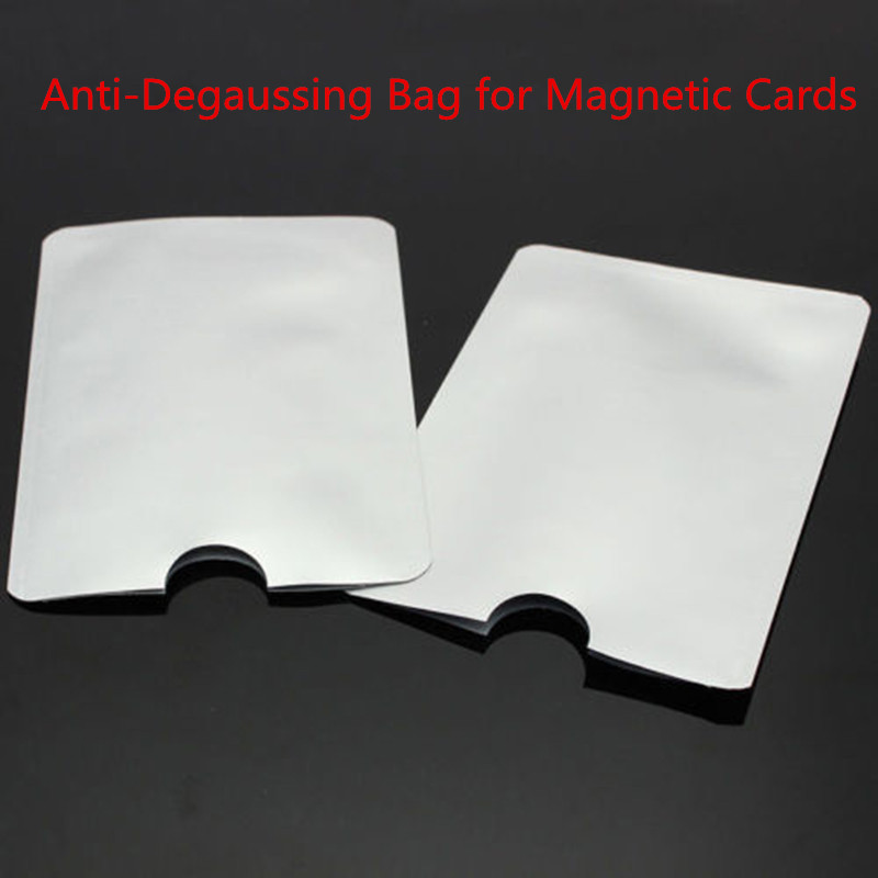 50pcs /lot Anti Scan RFID Blocking Sleeve For Credit Card Security ATM Debit Contactless IC ID Card Blocker Protector