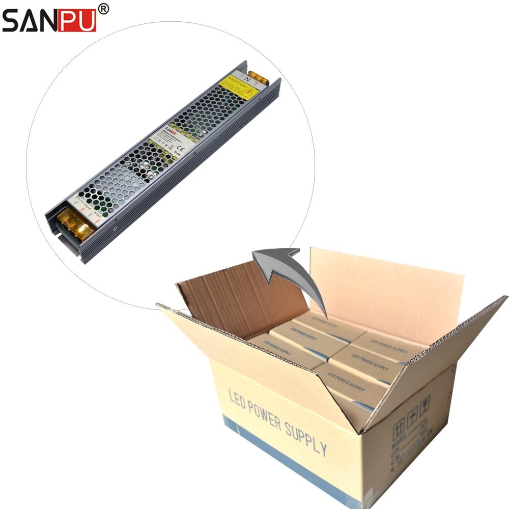 44pcs lot SANPU 0 10V Traic SCR Dimmable Power Supplies 24V 250W 10A Constant Voltage 24VDC