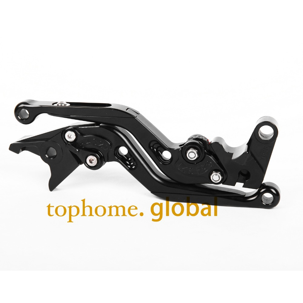 Motorcycle Accessories CNC Foldable&Extendable Brake Clutch Levers For Yamaha YZF R6 1999-2004 Black Color 2000 2001 2002 2003 запчасти и аксессуары для автомобилей twozilla