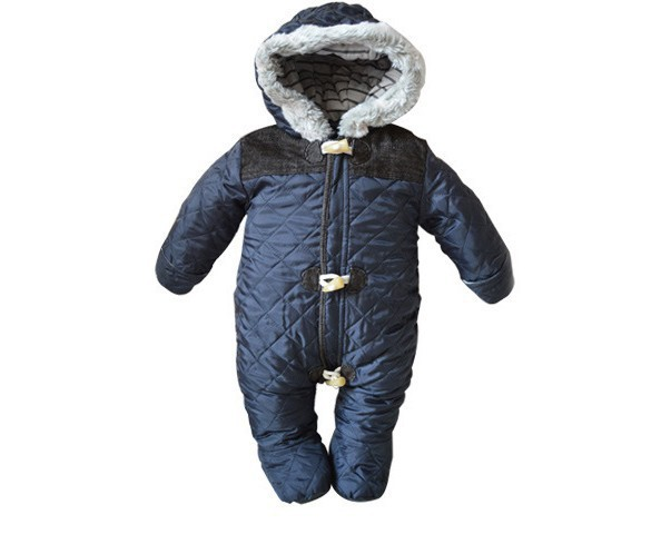 ce57ceeafeb8 winter baby boy snowsuit romper toddler cotton one piece suit romper ...
