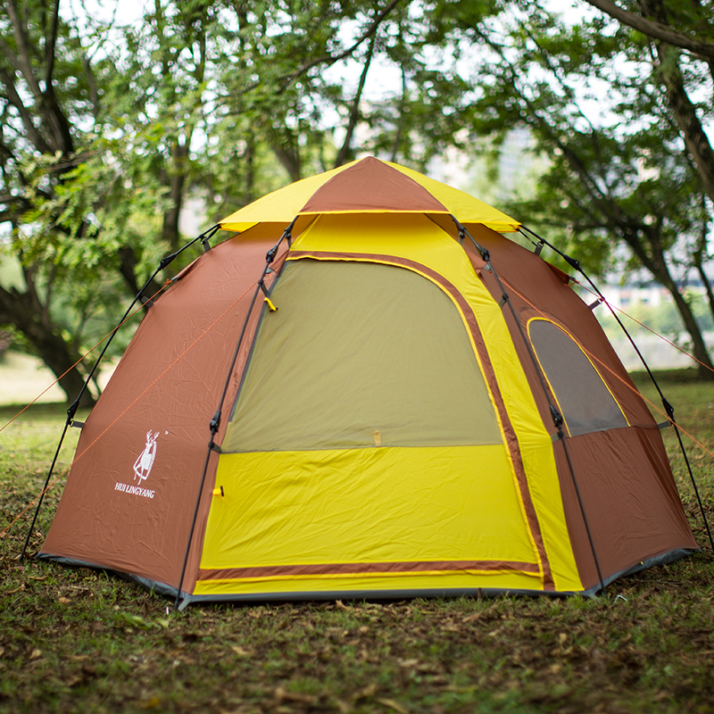 New arrival high quality 3 4person ultralarge camping tent ...