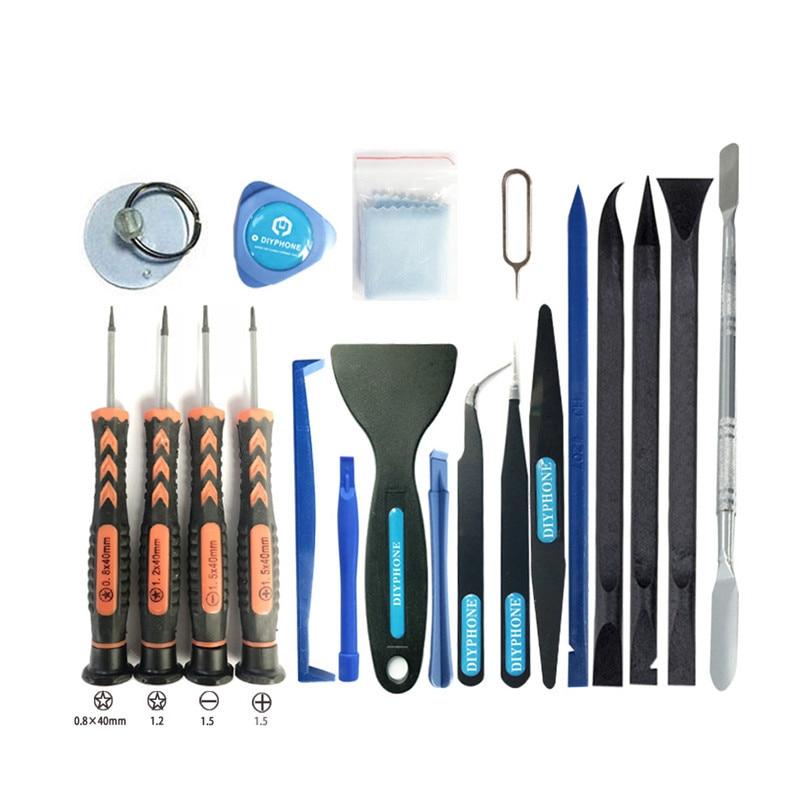 20 IN 1 Screen Repair Kit Mobile Repair Tools With Screwdriver Set For IPhone 11Pro XS MAX X 8 8P 7 7P Repair Opening Tools