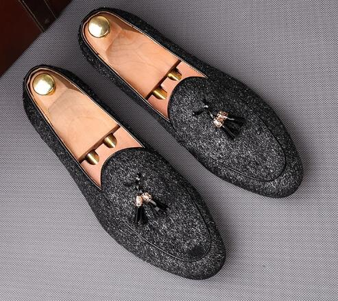 aa4916378 Sapatos Novos Britânico Regresso Vintage Casa Do Sexo 01 02 Apontou De A Homens  Borla Festa ...